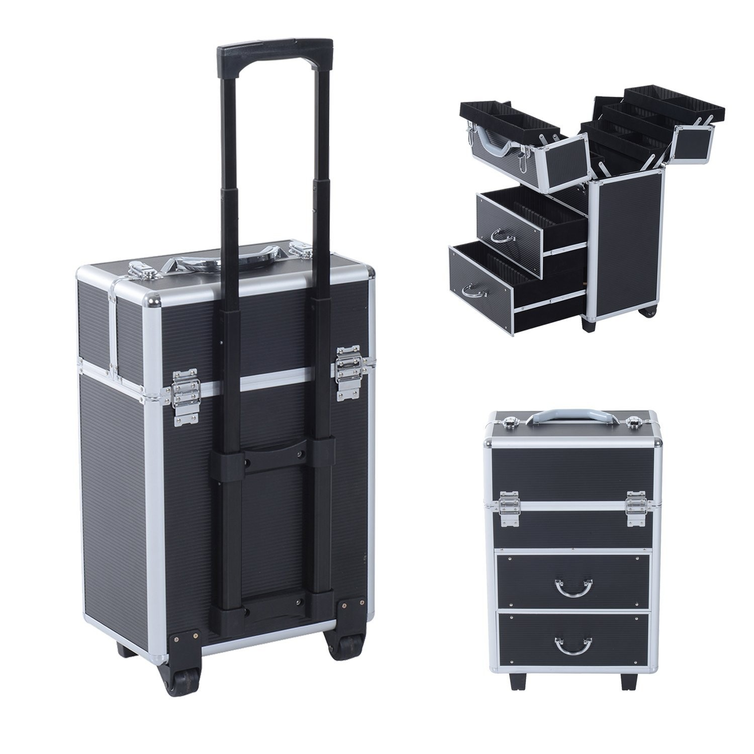 Suitcase With Drawers