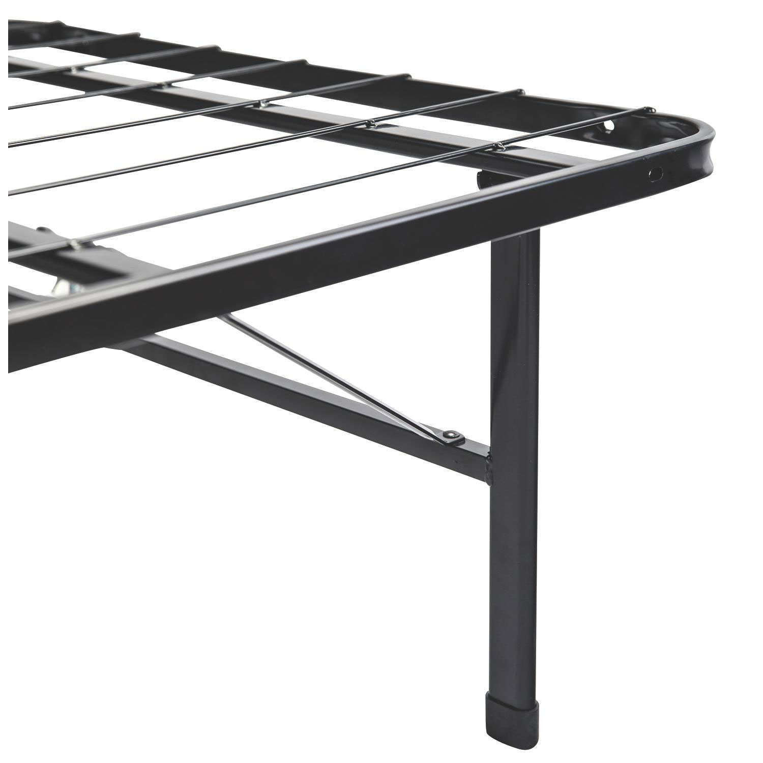Zinus smartbase deluxe bed frame   queen : box springs   best buy ...