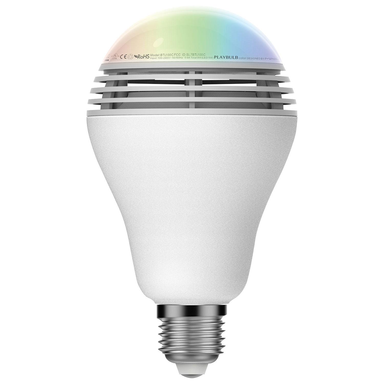 Led light bulb speaker my feedly sony led light bulb for Best bluetooth light bulb speaker