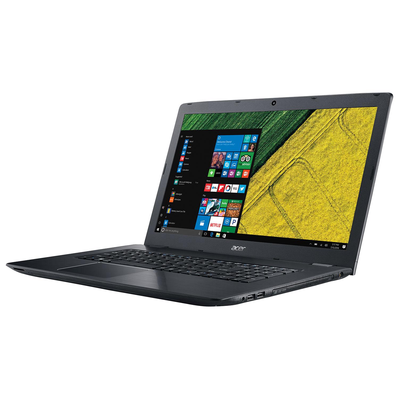 acer aspire e 17 3 laptop black intel i5 7200u 1tb hdd 12gb