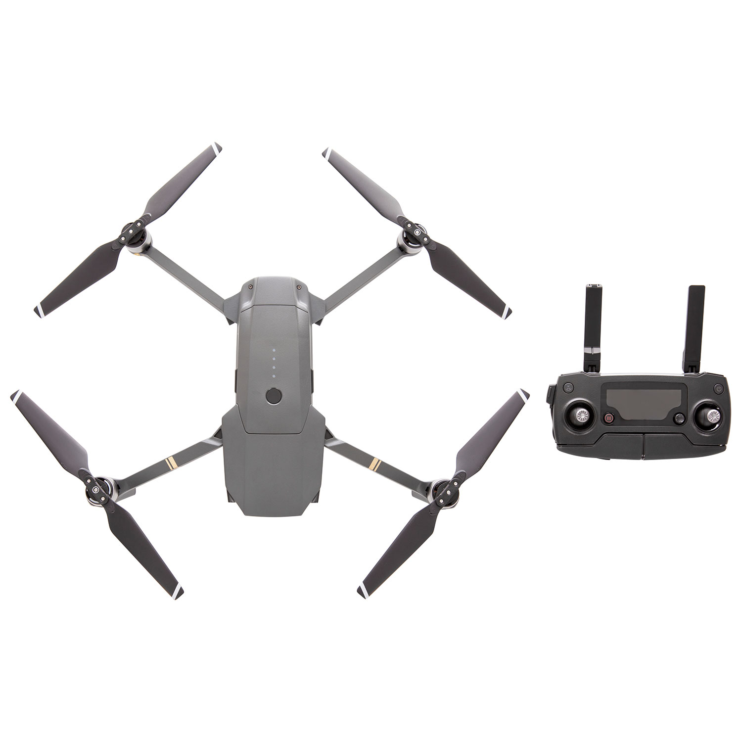 dji mavic pro quadcopter drone with 4k uhd camera & controller fly