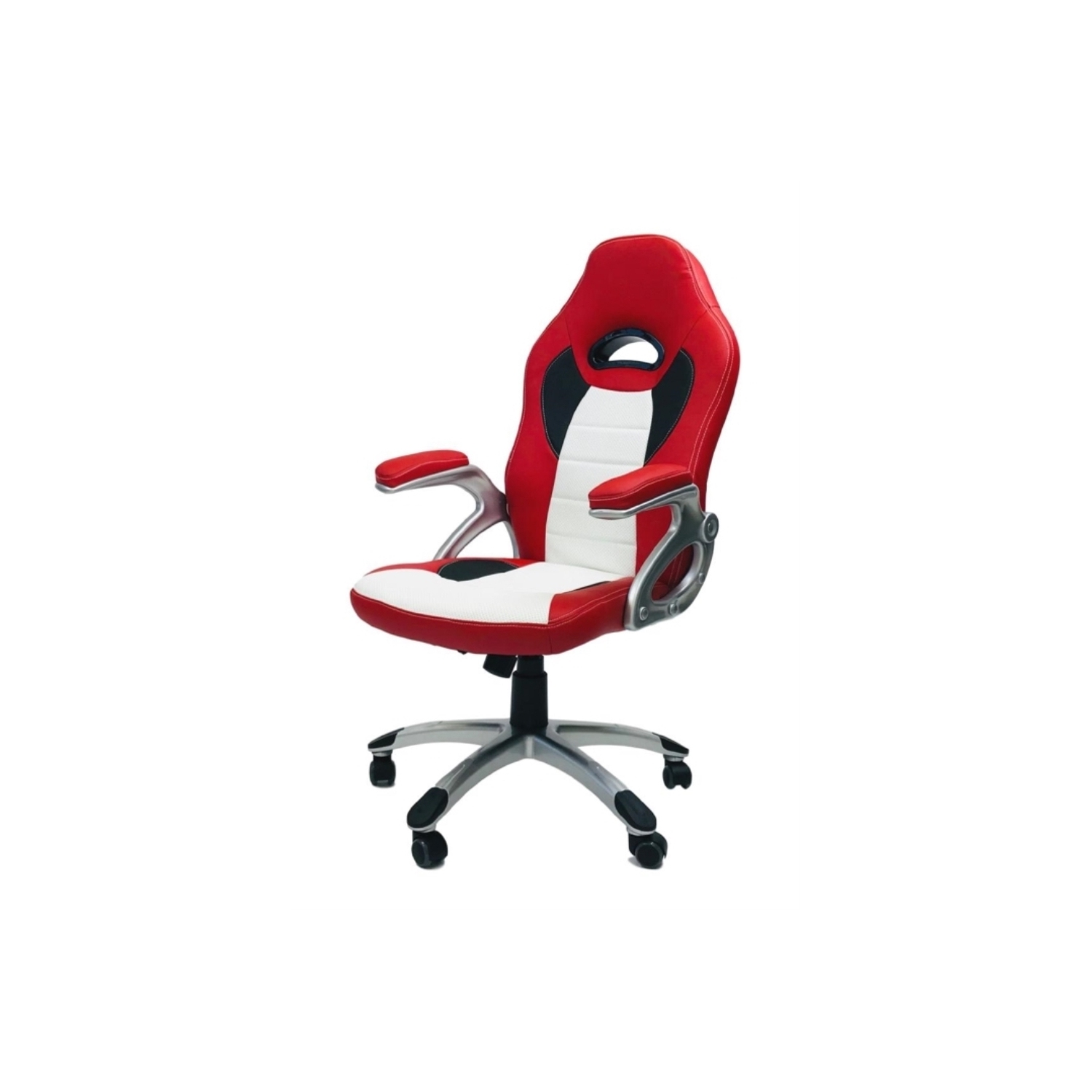 Viscologicthrill Sports Gaming Chair Red N White Gaming Chairs