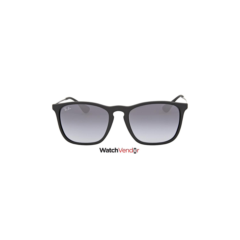 424d58535b9 Ray Ban Chris Grey Gradient Sunglasses RB4187 622 8G 54   Sunglasses ...