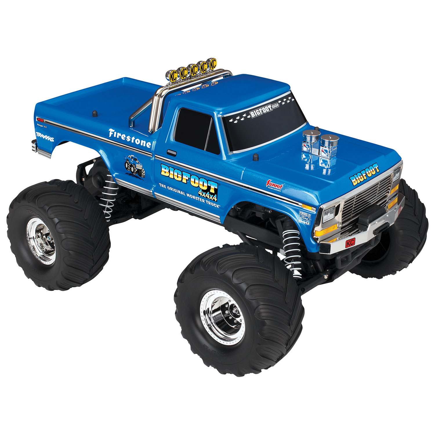 Another model that I just tested this summer and really enjoyed a lot is the incredibly cool Traxxas BIGFOOT No 1 2WD 1 10 Scale RC Truck