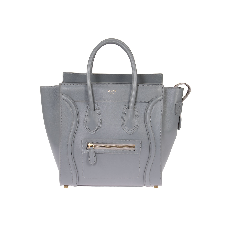 4d8a4c34f8 Celine Micro Luggage Handbag