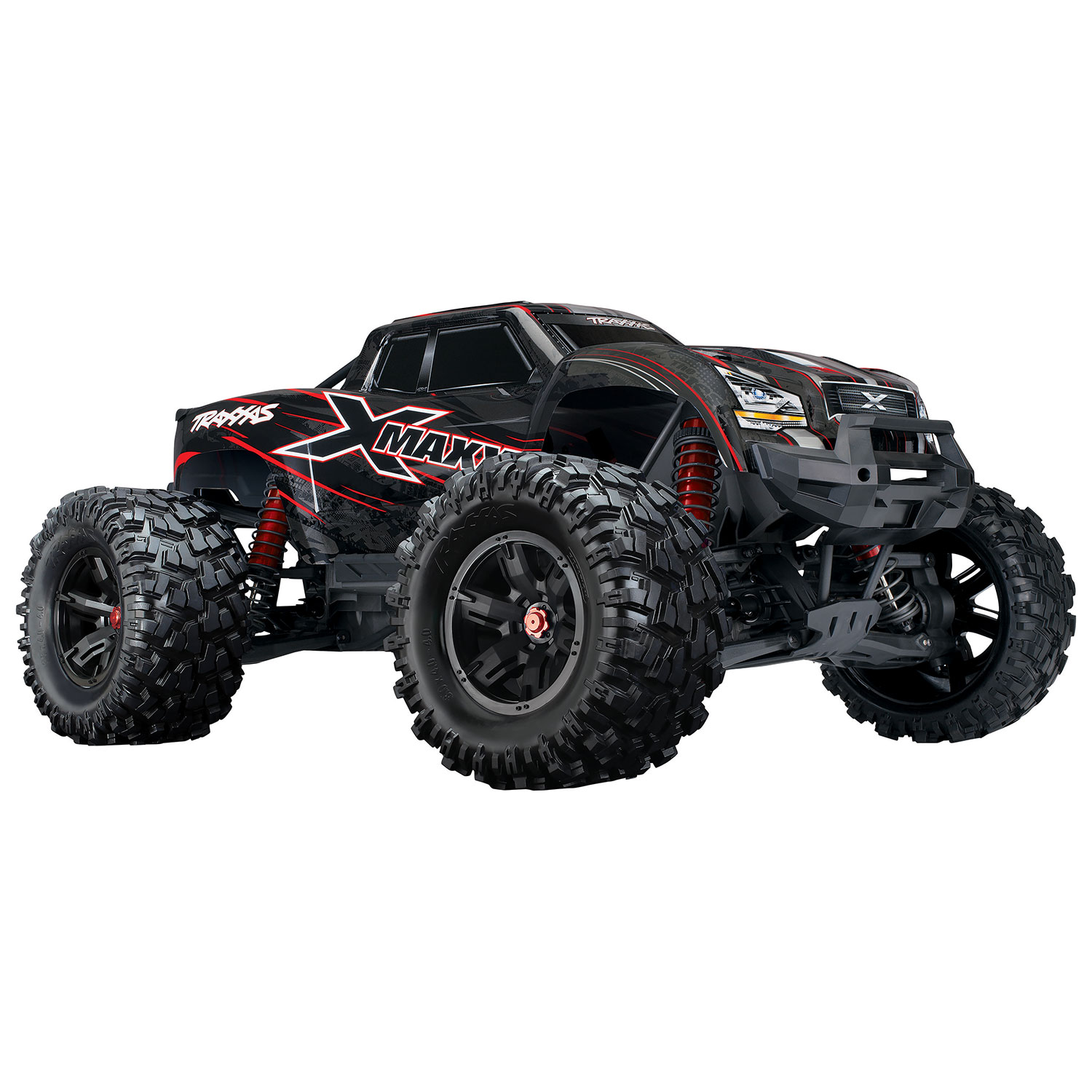 Traxxas X Maxx 8S 4WD 1 5 Scale RC Truck 4 Red RC Cars & Trucks Best Buy Canada