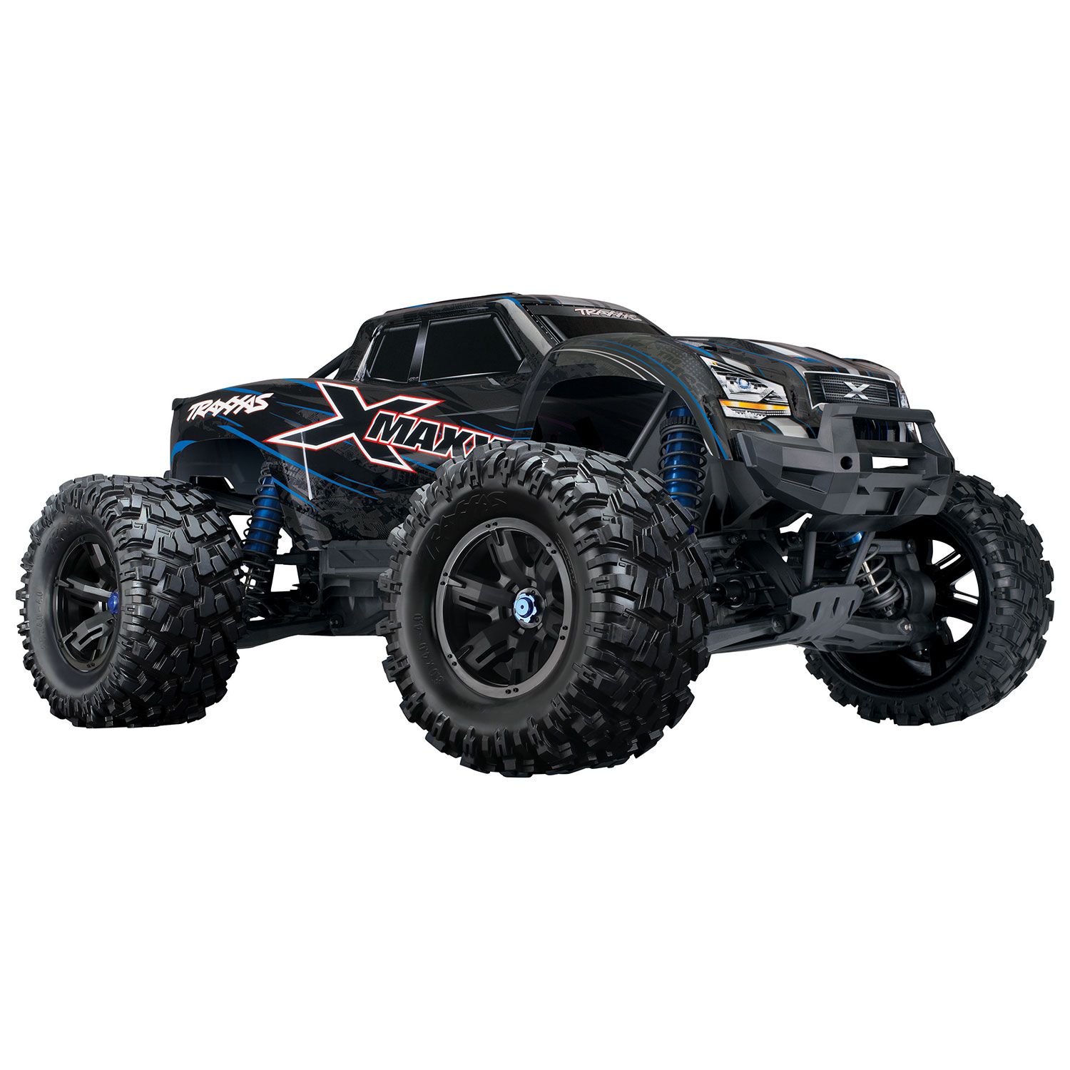 Traxxas X Maxx 8S 4WD 1 5 Scale RC Truck 4 Blue RC Cars & Trucks Best Buy Canada