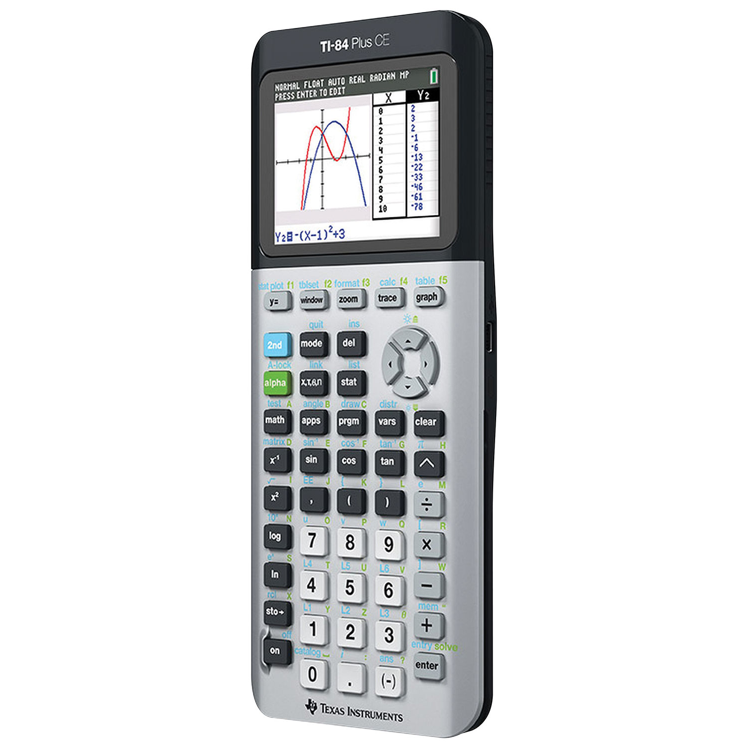 Texas Instruments Ti84 Plus Ce Graphing Calculator Grey Graphing  Calculators : Calculators Best Buy Canada Variance