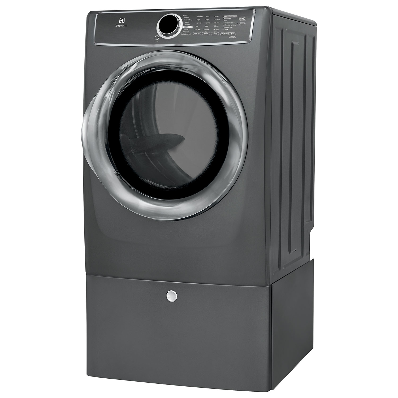electrolux 617. electrolux 8 cu. ft. electric steam dryer (efmc617stt) - titanium : dryers best buy canada 617