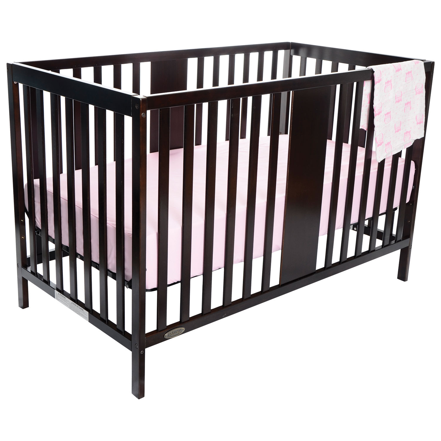 Kidiway Gabby 4 In 1 Convertible Crib  Espresso  Only At