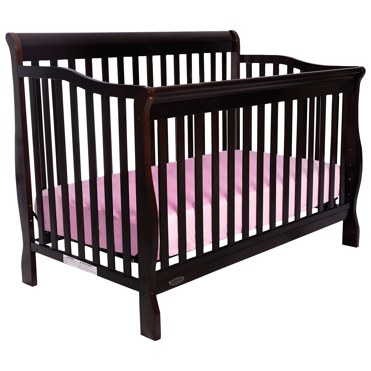 Crib for sale kelowna - Kidiway Santa Maria 4 In 1 Convertible Crib Espresso