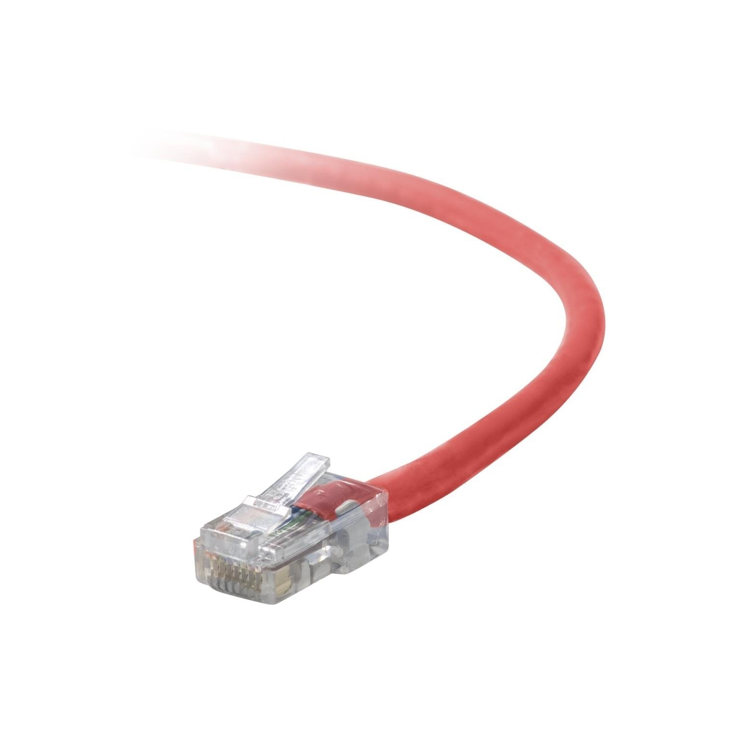 Belkin Cat 5e Snagless Patch Cable Red 3 Feet