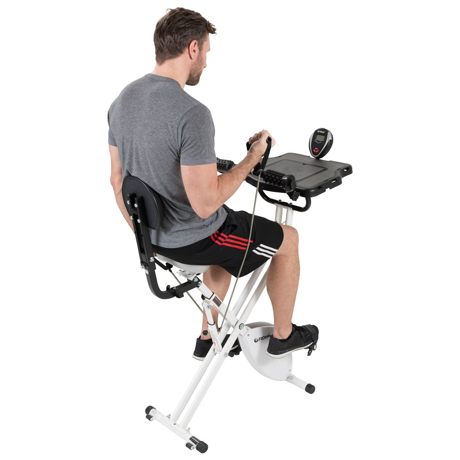 FitDesk 3 0 Exercise Desk Bike Exercise Bikes Best Buy Canada