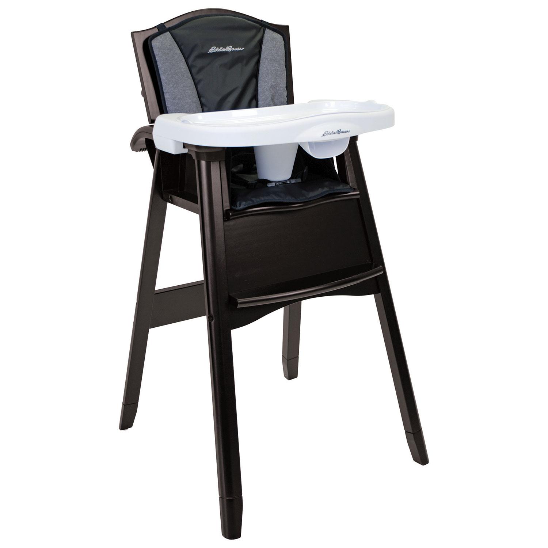 Eddie Bauer High Chair With Tray Night Blue