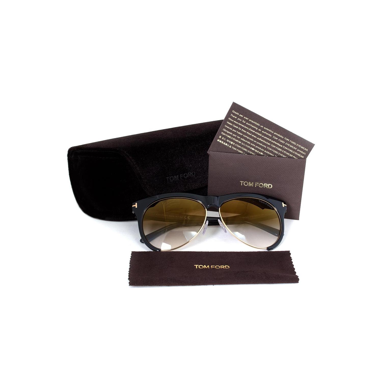 0d2a7cc0202 Tom Ford Leona Sunglasses FT0365 01G