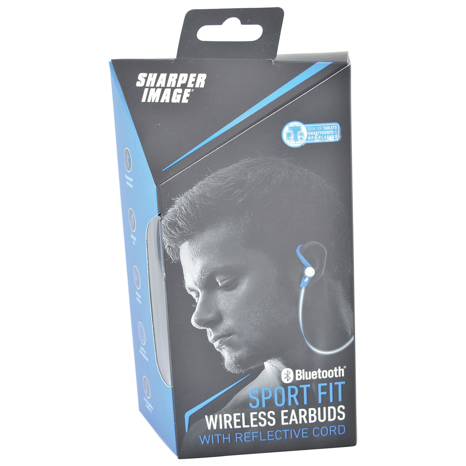 Sharper Image In Ear Sound Isolating Wireless Sports Headphones With