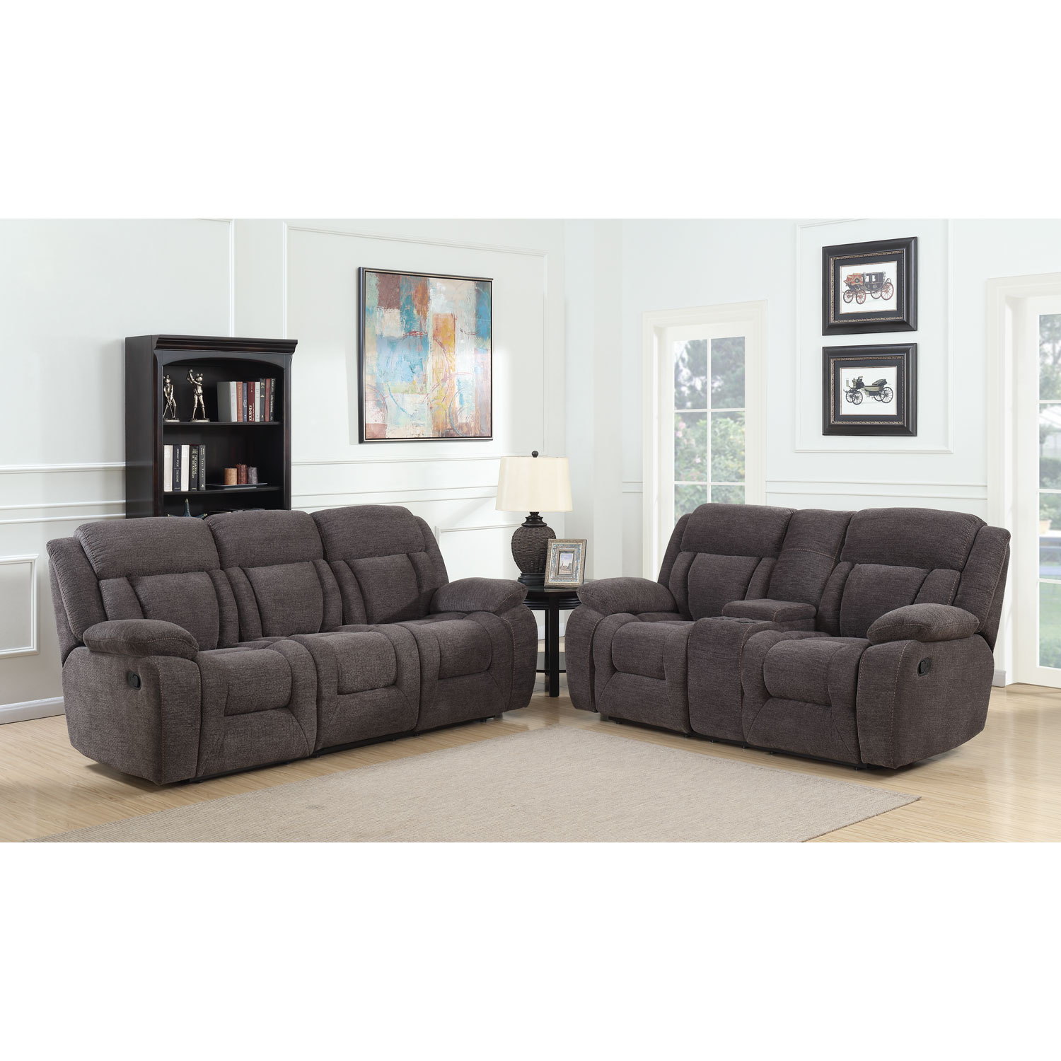 Geneva Contemporary Corduroy Recliner Sofa - Charcoal  Sofas - Best Buy Canada  sc 1 st  Best Buy Canada & Geneva Contemporary Corduroy Recliner Sofa - Charcoal : Sofas ... islam-shia.org
