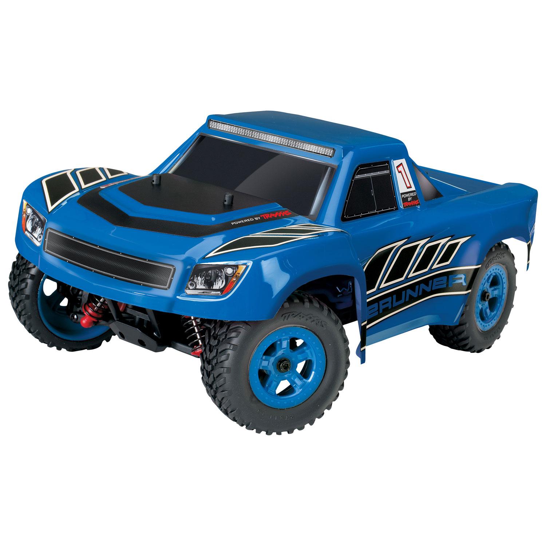 LaTrax Desert Prerunner 4WD 1 18 Scale RC Truck Blue