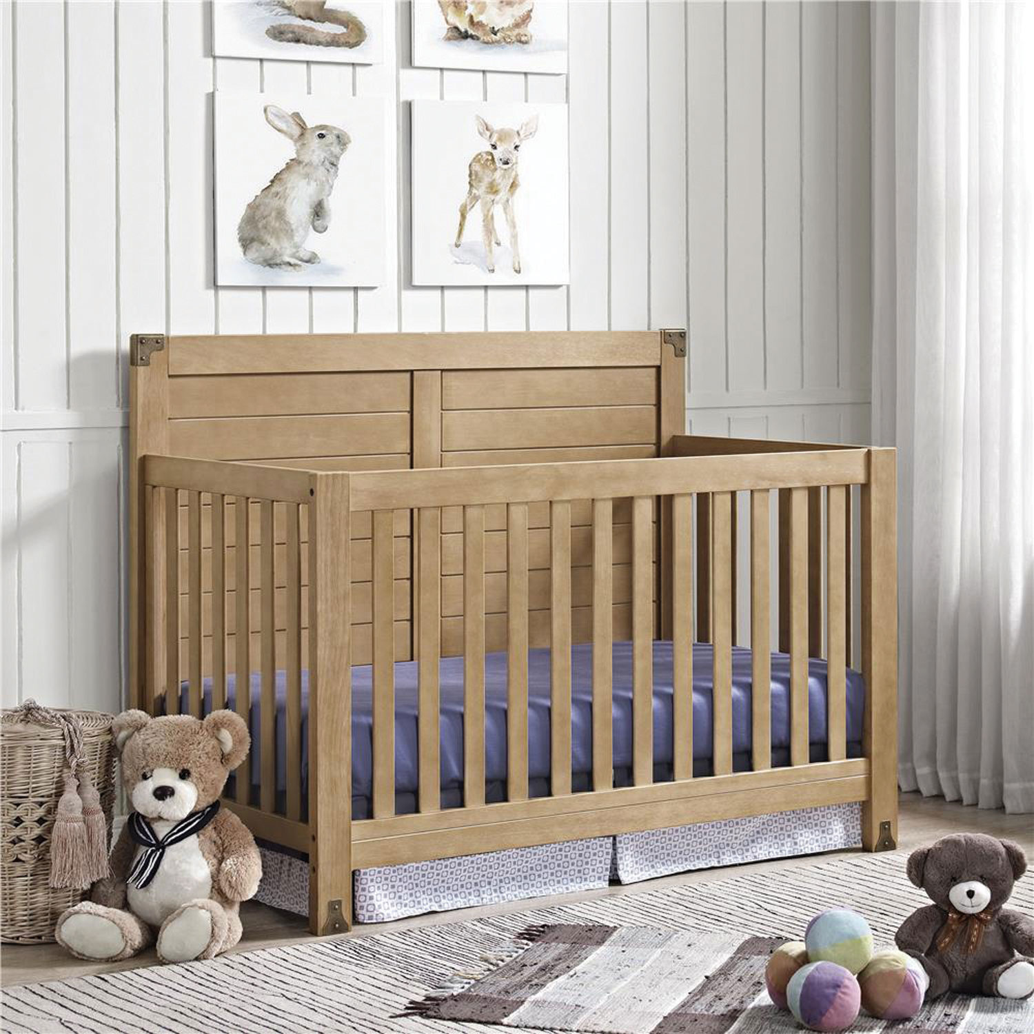 Used crib for sale edmonton - Baby Relax Ridgeline 4 In 1 Convertible Crib Rustic Natural