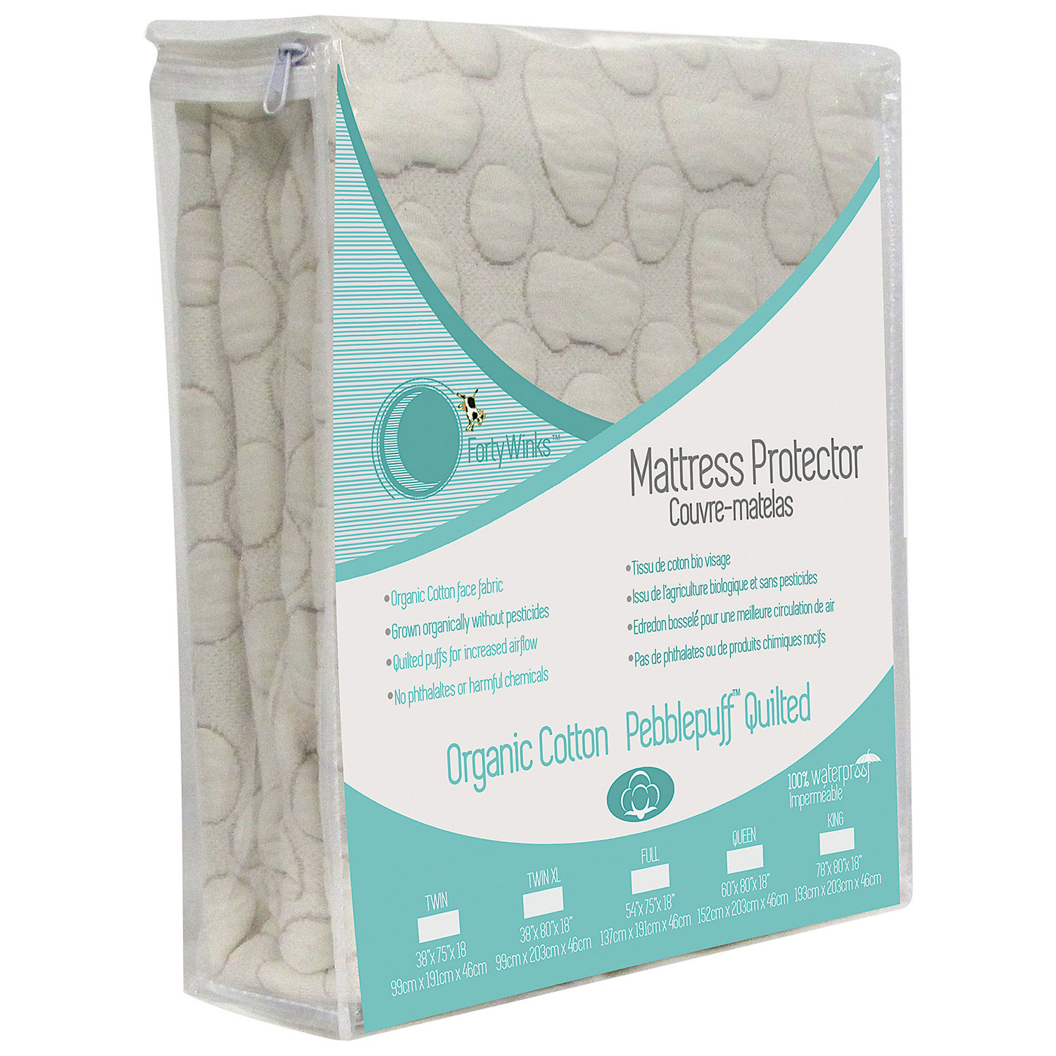 ca protector pad cotton winks puff small dp crib pebble amazon baby organic natural mattress