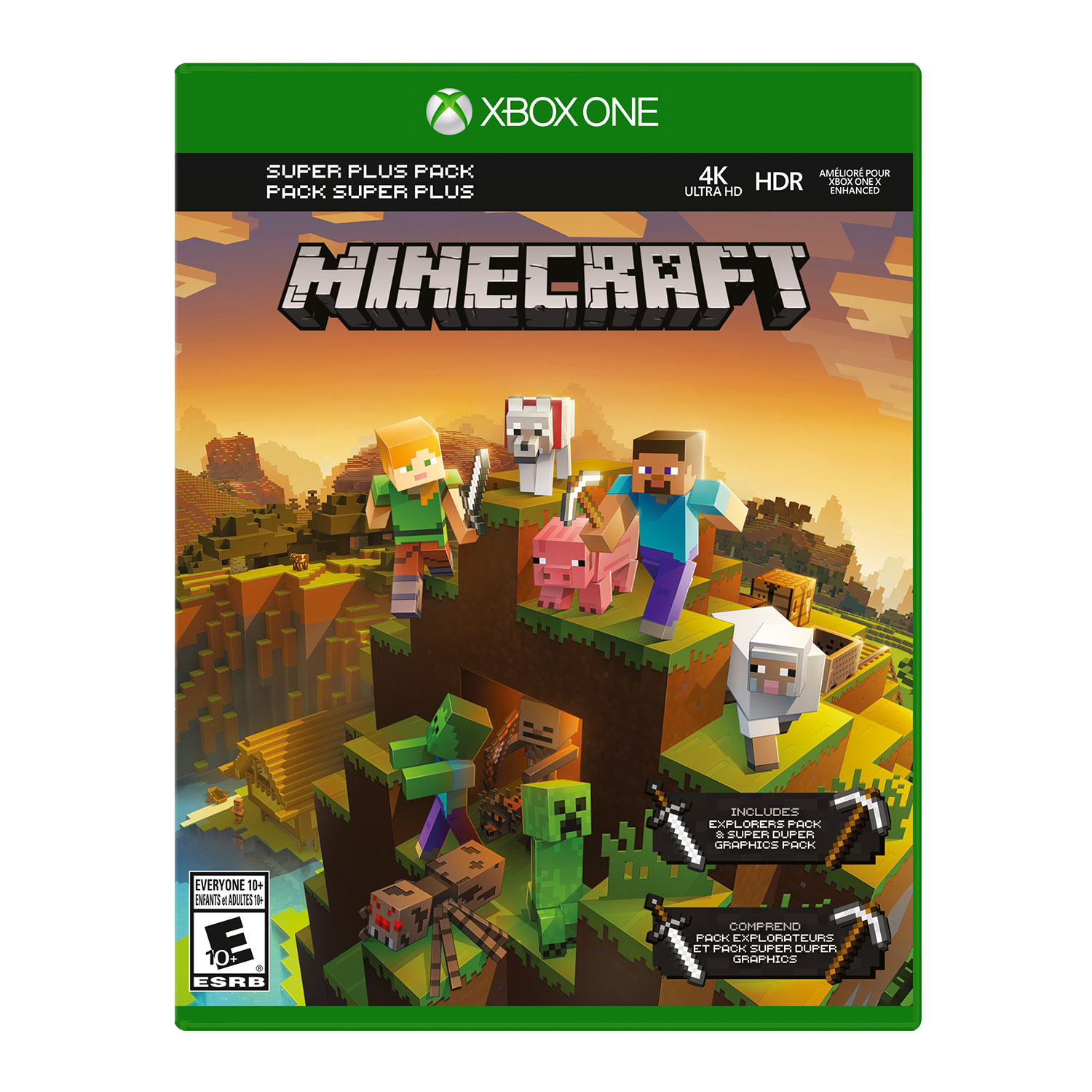 minecraft xbox one edition with favourites pack xbox one games