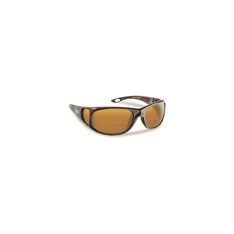 767ac4c5495 Flying Fisherman 7380TA-150 Nassau Polarized Sunglassed Tortoise Frames  With Amber Reader Plus 1.50 Lenses   Reading Glasses - Best Buy Canada