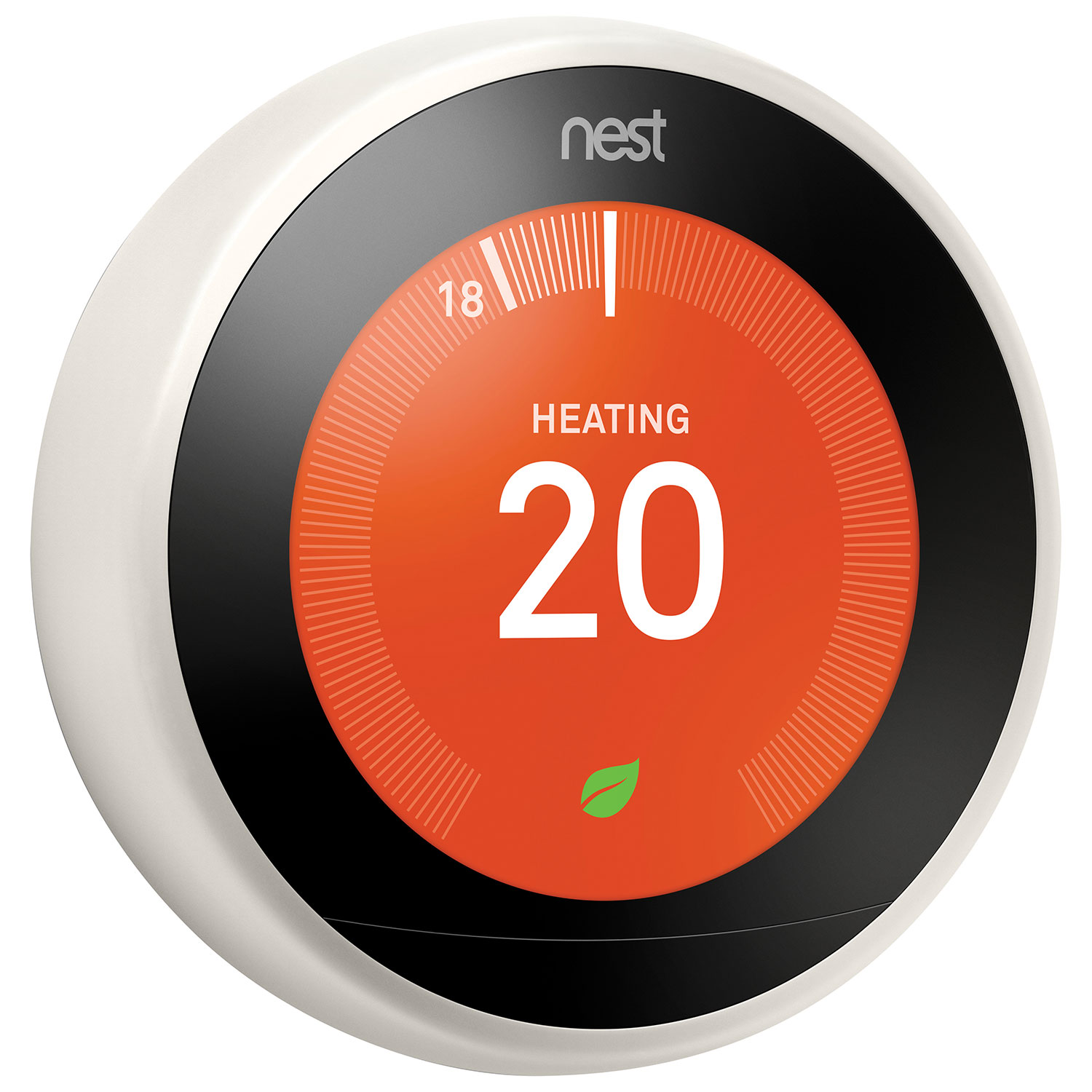 Nest Wi Fi Smart Learning Thermostat 3rd Generation White Only Wiring Ring At Best Buy Thermostats Canada