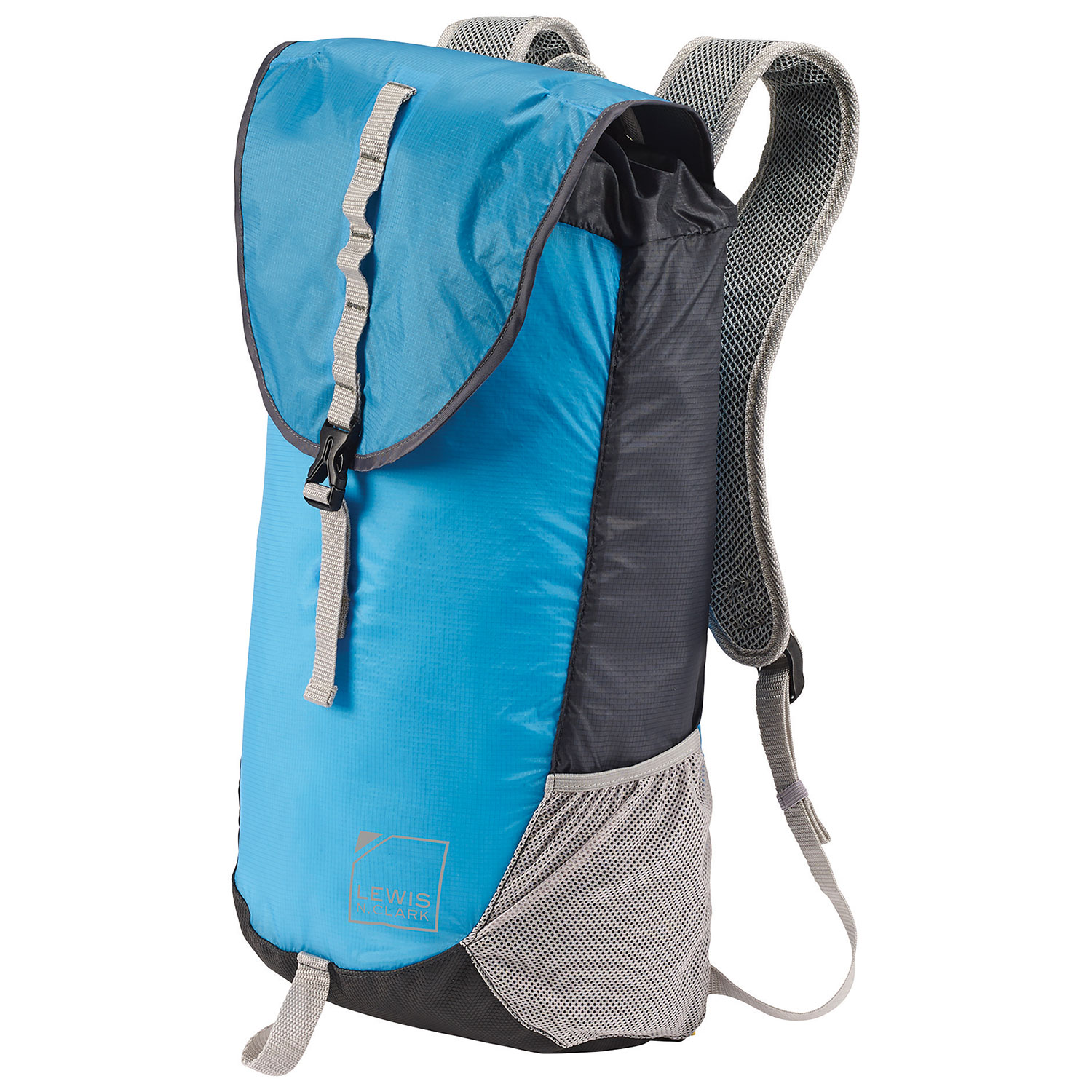Final Clearance Lewis N. Clark ElectroLight Day Backpack - Bright Blue -  Online Only 7d50b7c9fa