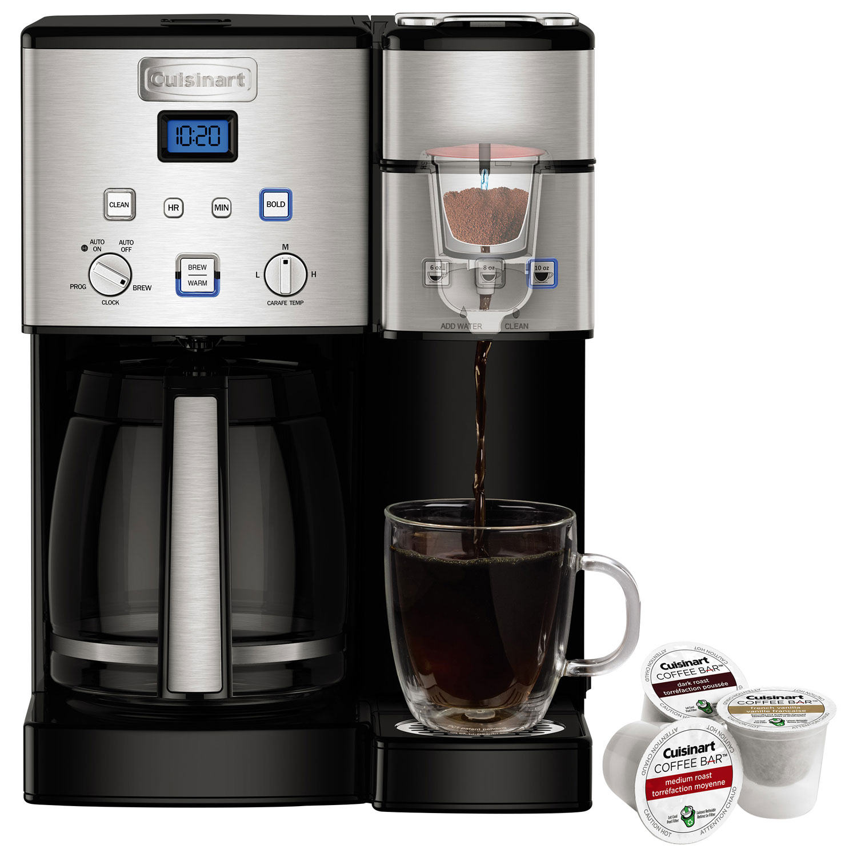 Cuisinart Coffee Center Programmable Coffee Maker 12 Cupsingle