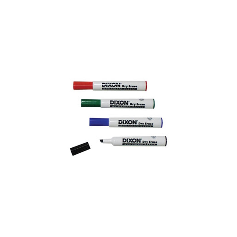 Dixon Ticonderoga DIX92104 Dry Erase Whiteboard Markers Green - 1 Dozen