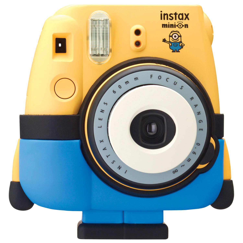 Fujifilm Instax Mini 8 Instant Camera - Minion : Instant Cameras ...