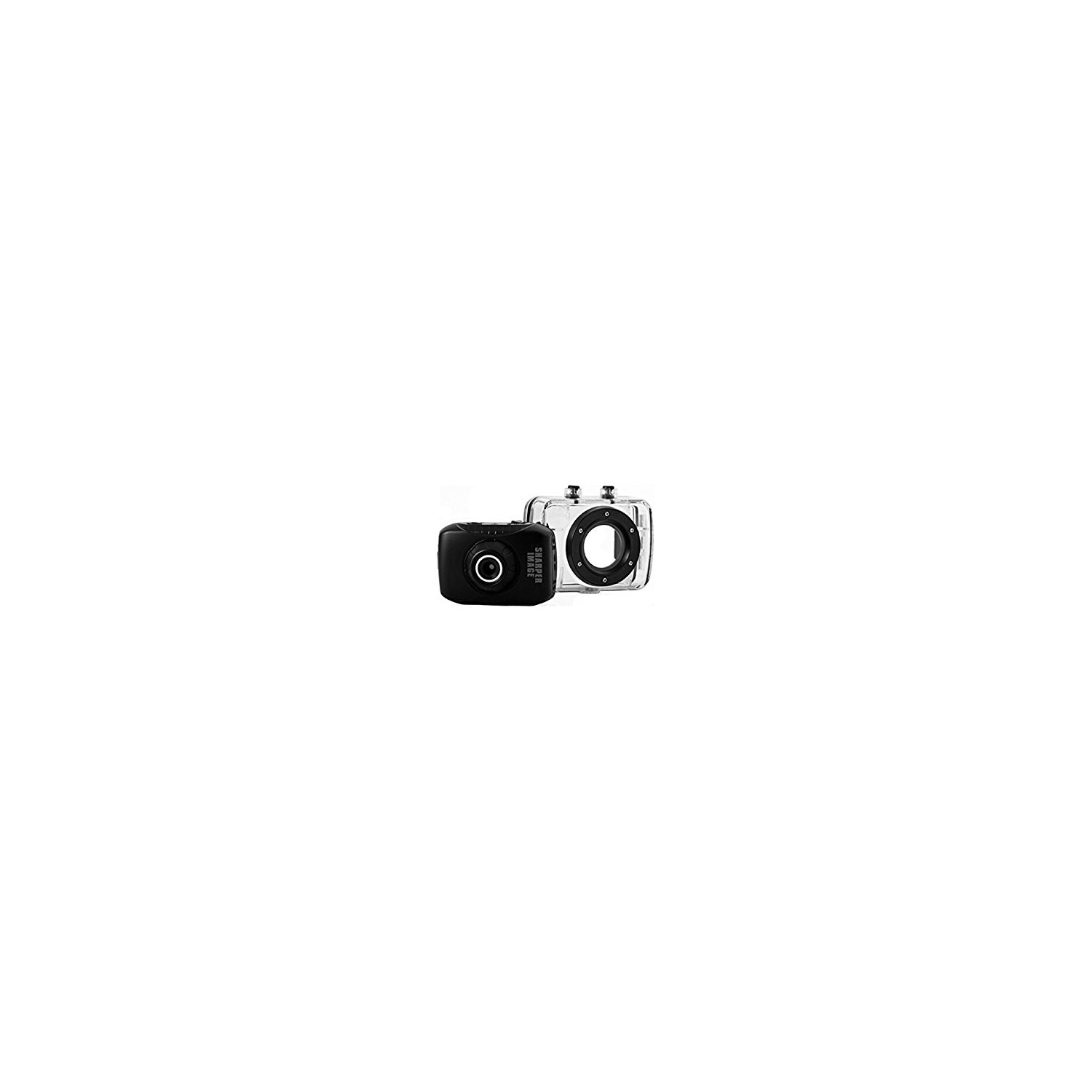 Sharper Image Svc355 33 Ft 5 Mp Hd Action Camera With 720 Pixel