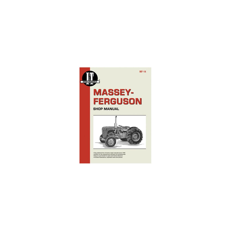 International Harvester MF-14 Massey Ferguson Shop Manual : Other Patio,  Lawn & Garden - Best Buy Canada