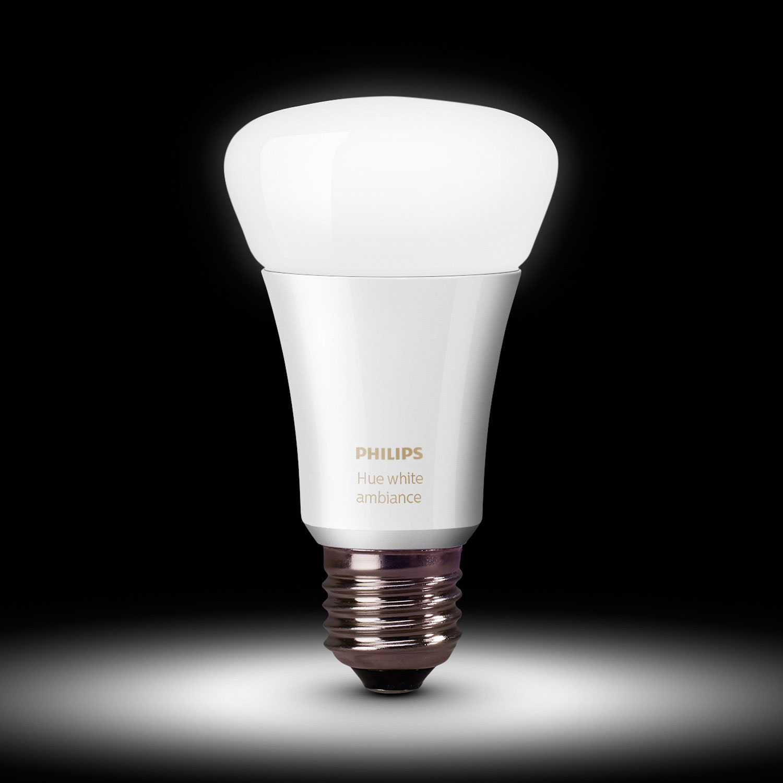 Philips Hue A19 Smart Bulb Starter Kit White Ambiance Led 3w Gen V Lights Best Buy Canada