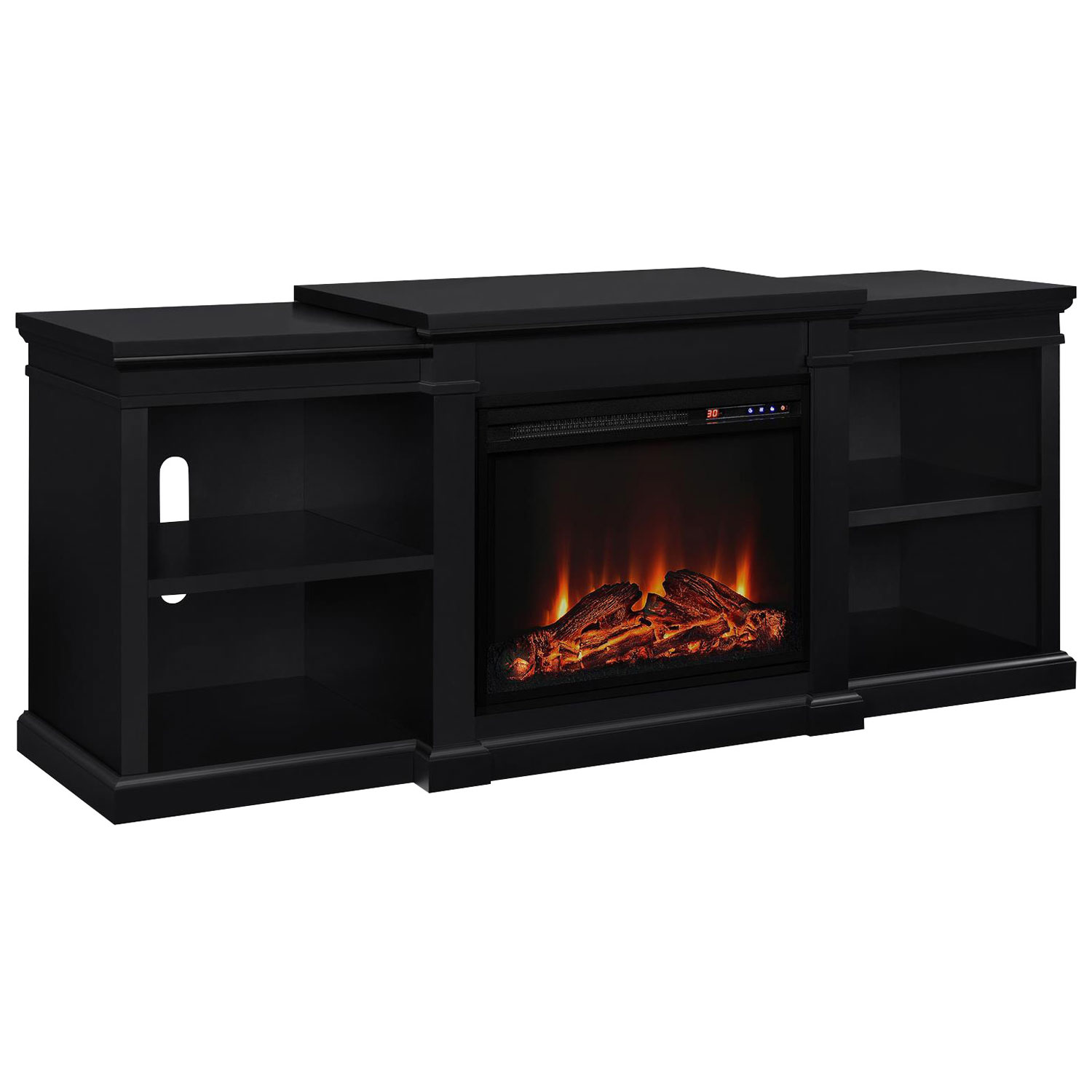 shop tv stands fireplace u0026 corner tv stands best buy canada