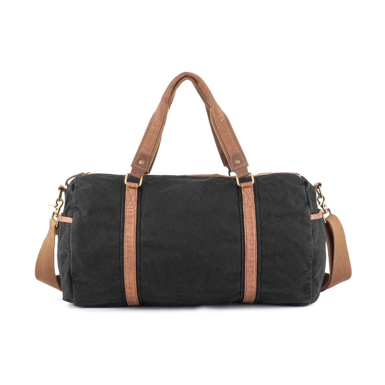 a18c458aff Gootium Vintage Canvas Duffle Bag Carry-on Weekender Sports Gym Bag ...