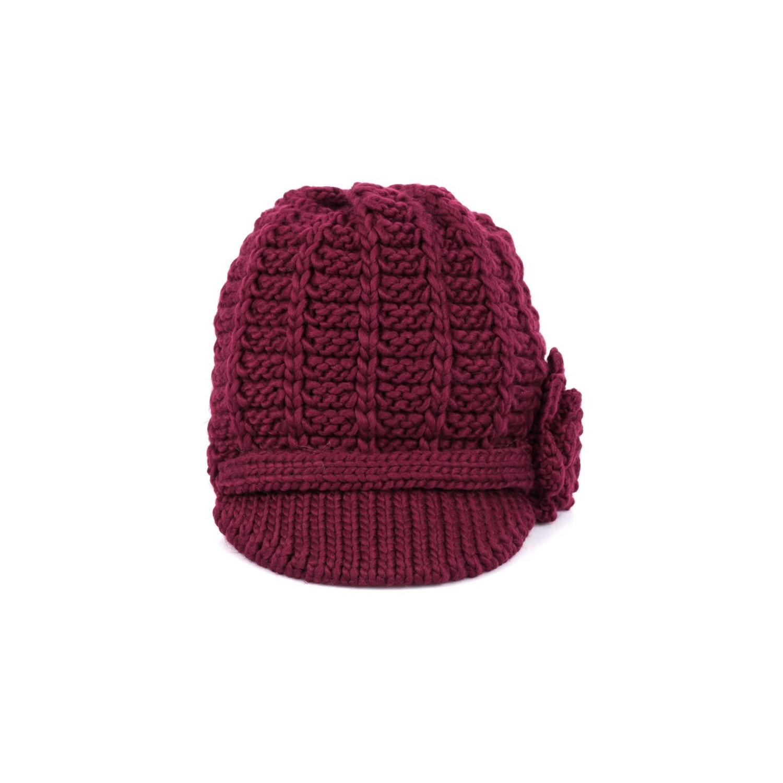 Karla Hanson Women s Knit Winter Hat Burgundy   Hats - Best Buy Canada c8e532e0b539