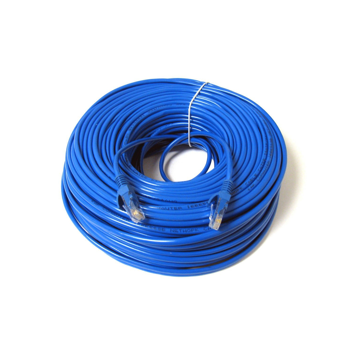 Network Cables Ethernet Patch Cat5 Cat5e Cat6 Best Buy Canada Cable Internet Wiring Konex Tm 100ft Blue Wire Cat 6 Cord With Snagless Rj45 Connectors