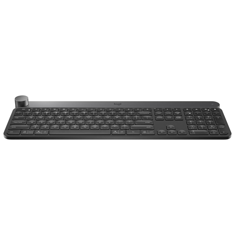Keyboards Bluetooth Wired Wireless Ergonomic Best Buy Canada Keyboard Mini I8 With 3 Colour Backlight Logitech Craft Backlit English