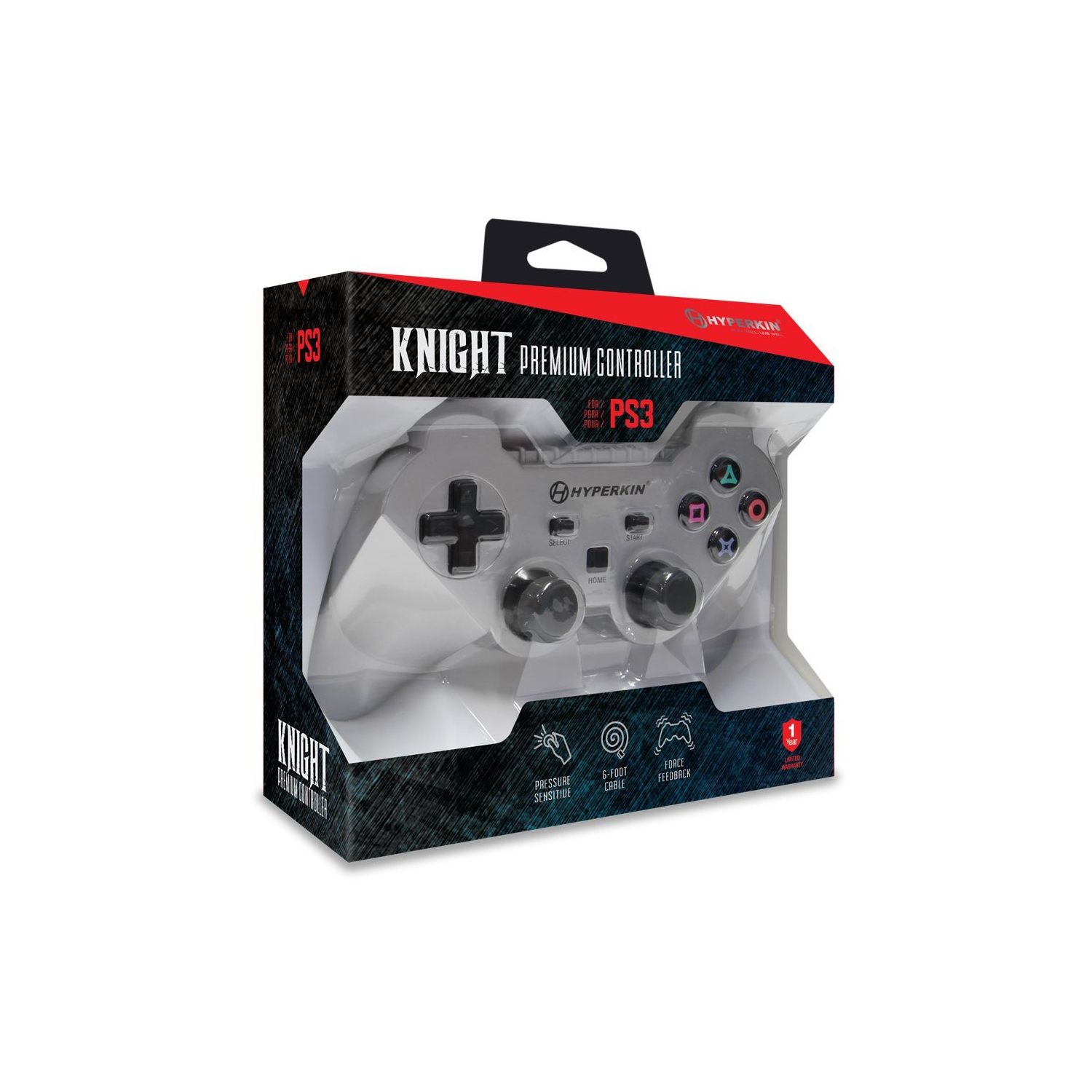 Ps3 controller universal wired dual shock wireless best buy canada controller ps3 premium knight silver hyperkin publicscrutiny Image collections