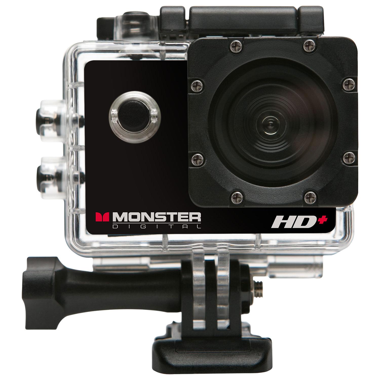 Wearable Action Camera Body 360 Waterproof Best Buy Canada Sportcam 4k Ultra Hd 16 Mp Wifi 1080p Monster Digital Sports Helmet