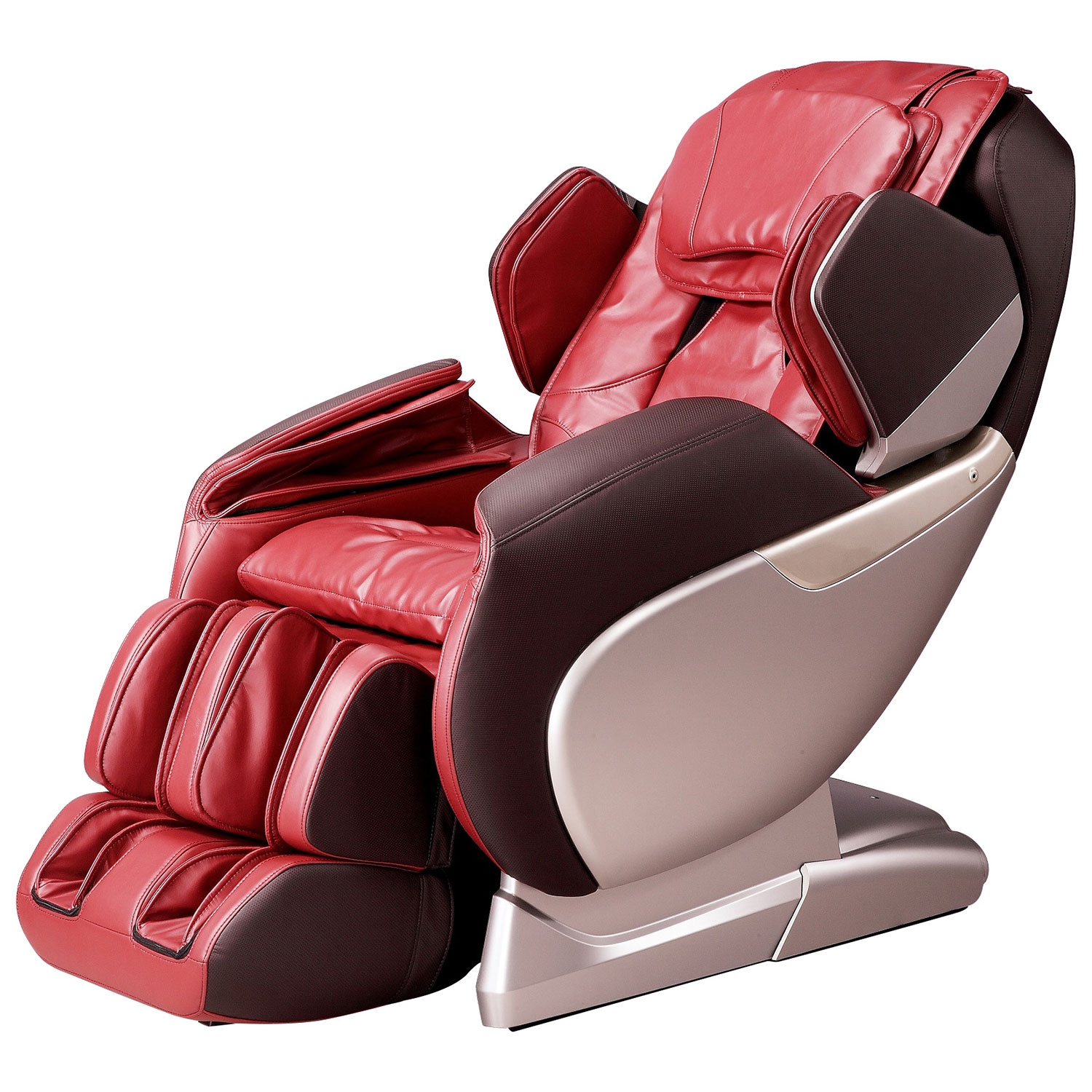 titan series faux massage chairs tp chair tan p pro leather reclining