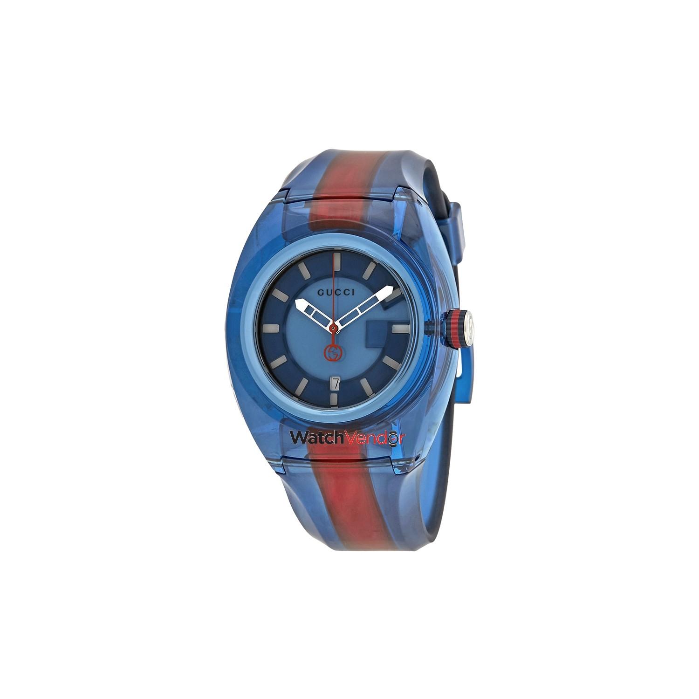 70ec7c685d9 Gucci Sync XL Blue Dial Men s Two Tone Watch YA137112   Men s Watches -  Best Buy Canada