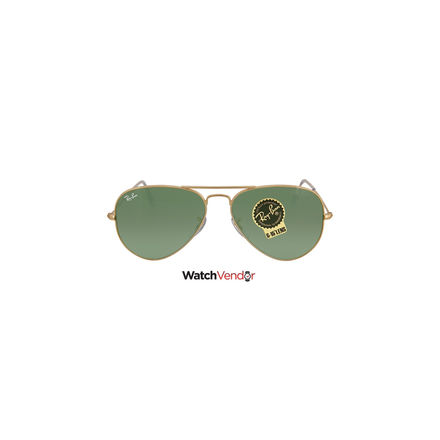 23406c9779 Ray Ban Aviator Arista Green 55 mm Sunglasses RB3025 W3234 55-14 - Online  Only