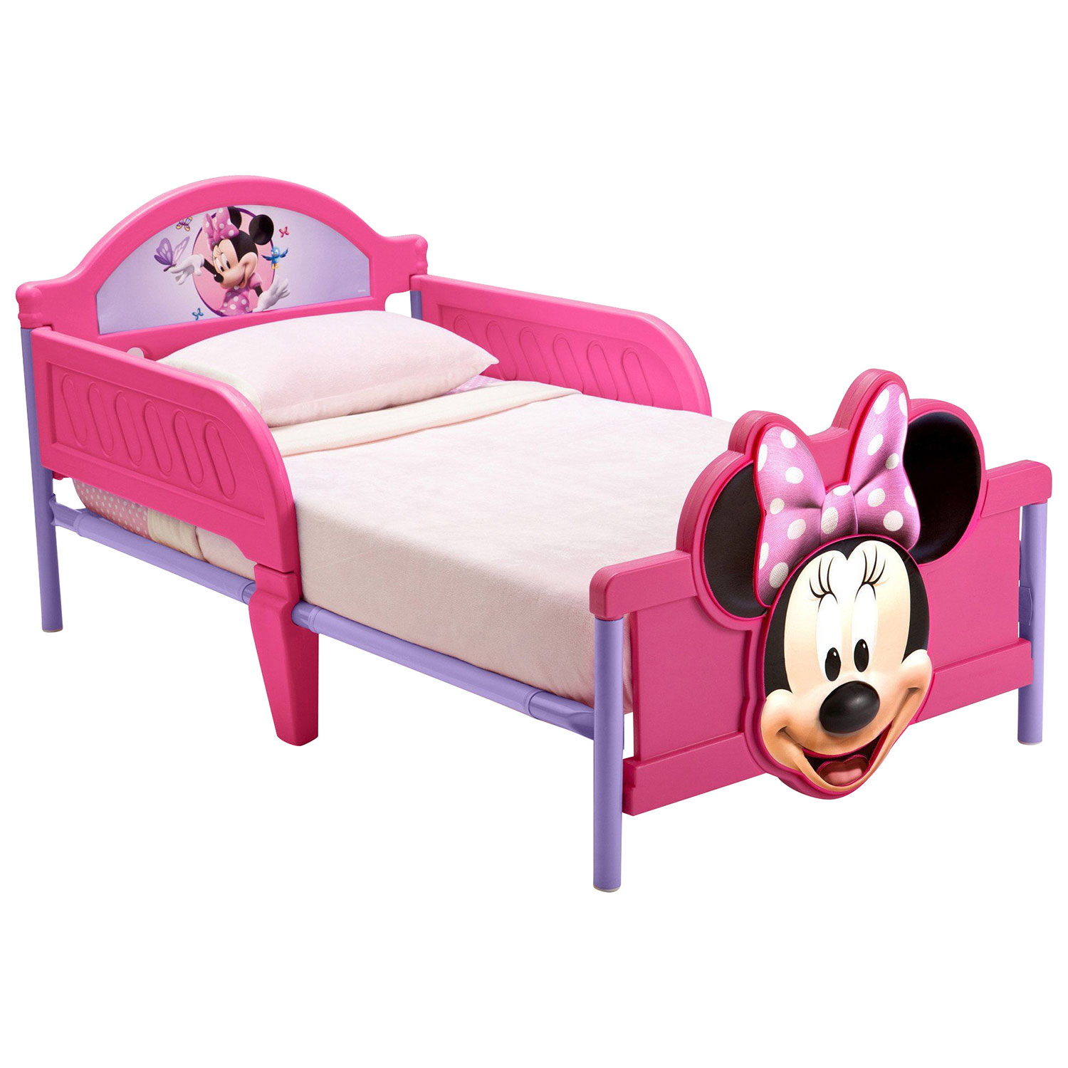 beds kids toddler itm character ebay feature bed disney and new