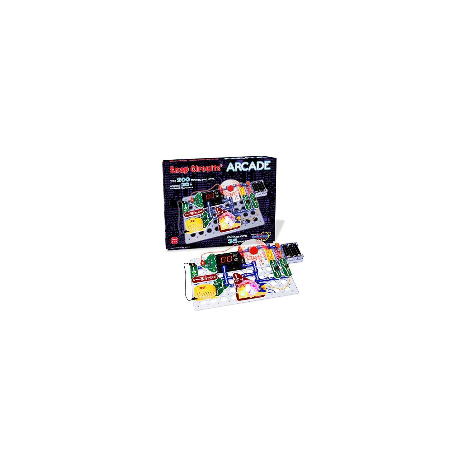Snap Circuits Arcade Electronics Discovery Kit Learning Elenco Mini Basic Electricity Toys Educational Best Buy Canada