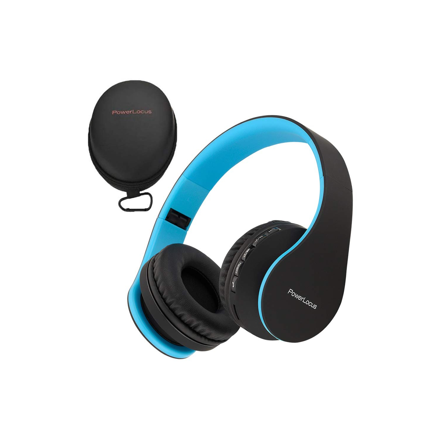 Powerlocus Wireless Bluetooth Over Ear Stereo Foldable Headphones Wired Headsets Noise Cancelling With Built In Microphone Fo Best Buy Canada