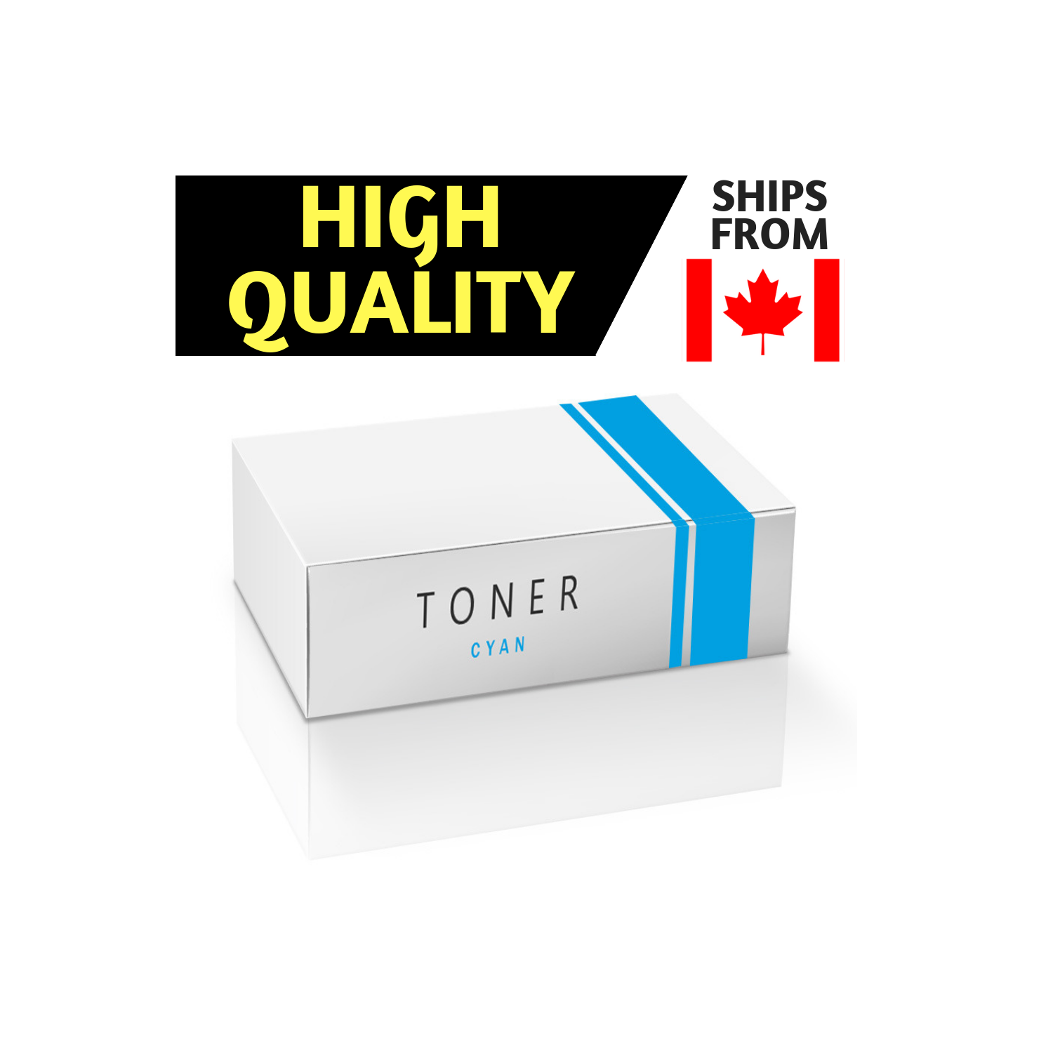 Compatible Cyan Toner Cartridge For Hp Cb401a 642a Free Color Laserjet Cp4005 Shipping Best Buy Canada
