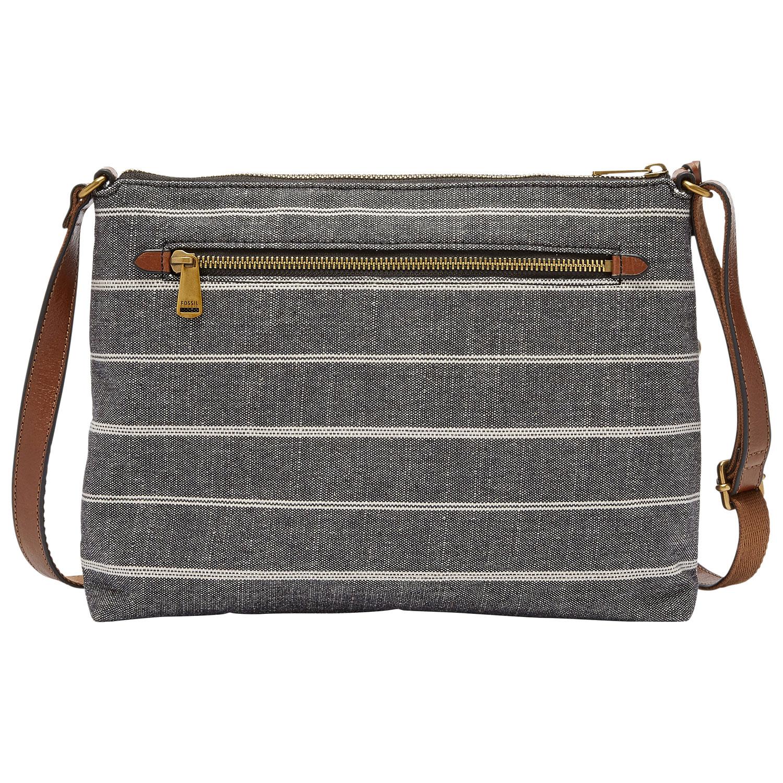 Fossil Kinley Cotton Crossbody Bag - Chambray   Crossbody Bags - Best Buy  Canada 2b9a759fef842