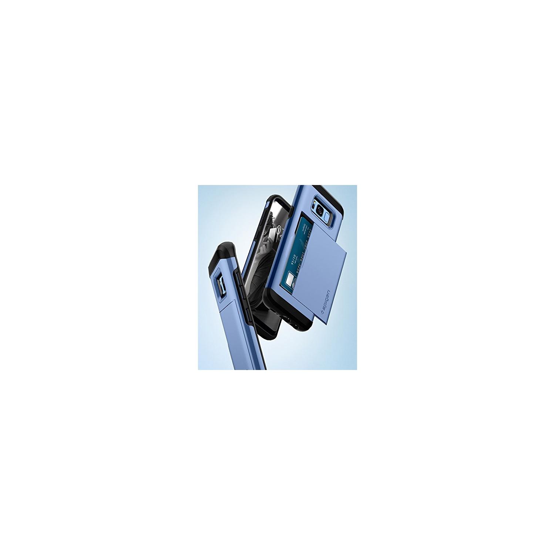 Galaxy S8 Plus Case Card Holder Spigen Slim Iphone Xr Anti Shock With Slot Armor Cs Casing Black Dual Layer Wallet Design F Samsung Cases